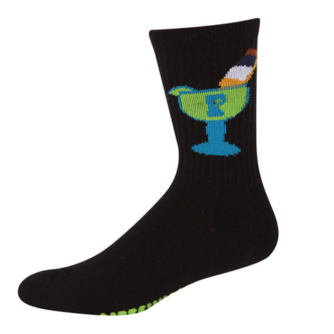 MARGARONA PSOCK BLACK/LIME