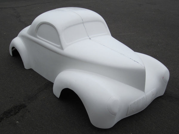 1941 Willys Coupe Macomber Fiberglass Bodies
