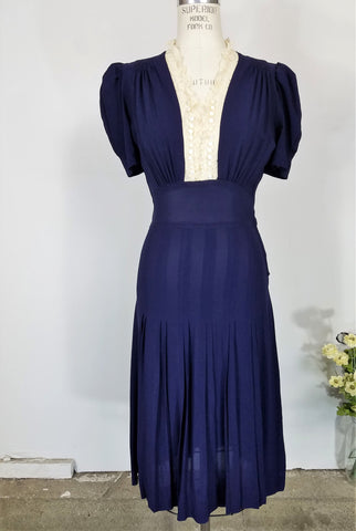 1940s Dress at Toadstool Farm Vintage