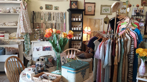 Toadstool Farm Vintage Store in Burbank California
