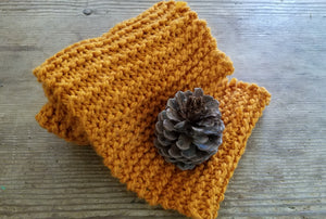 The Pumpkin Spice Extra Long Chunky Scarf