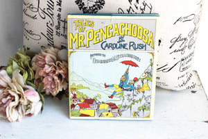 "Vintage 1970s Children's Book ""Tales of Mr Pengachoosa"", by Caroline Rush"