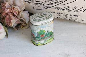 Handmade Soy Wax Candle in a Vintage Tin Container
