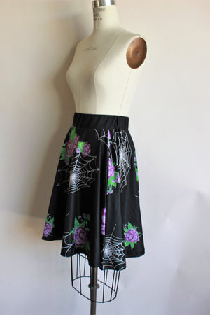 Spiderweb and Rose Skirt