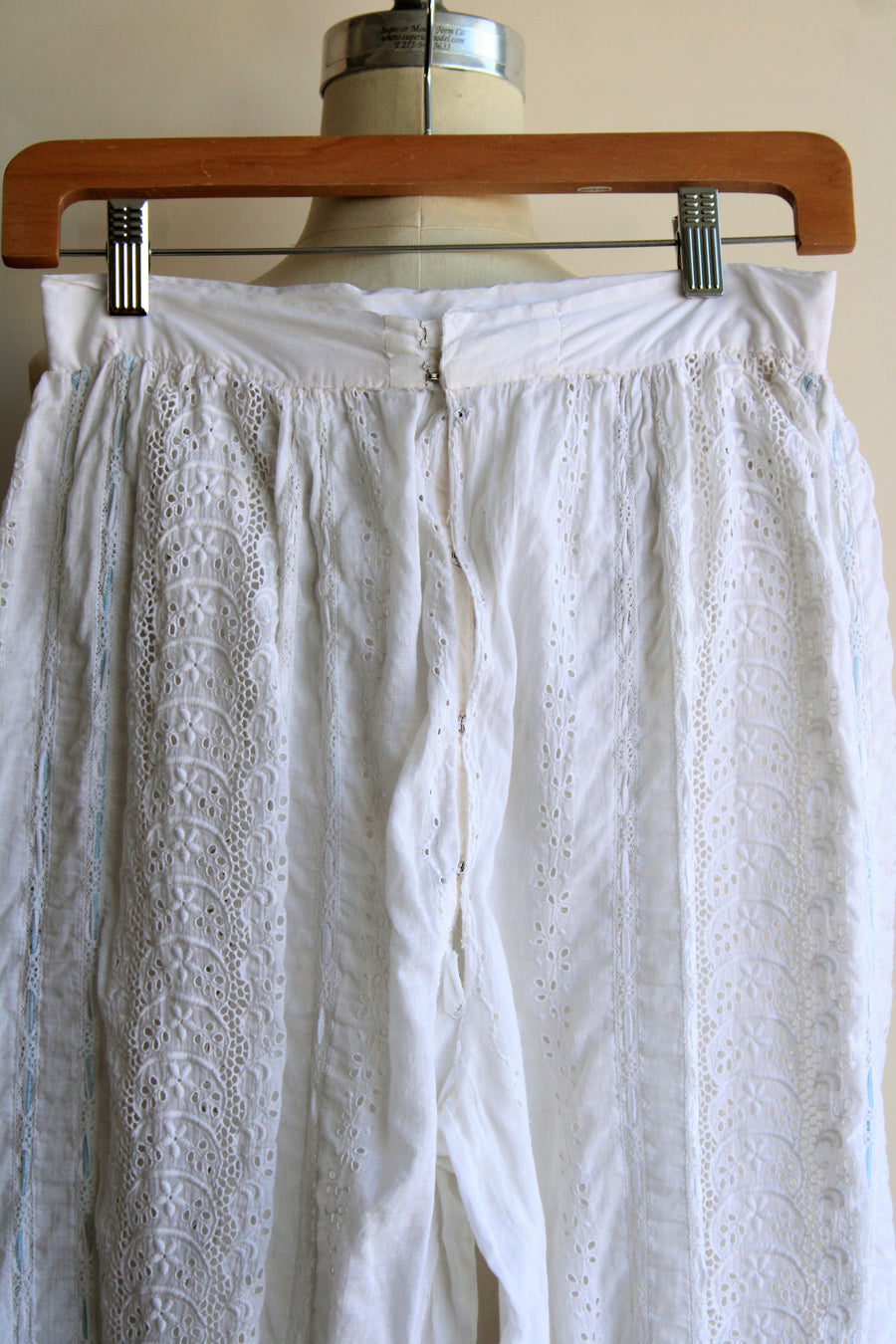 Antique Victorian Eyelet Lace Bloomers