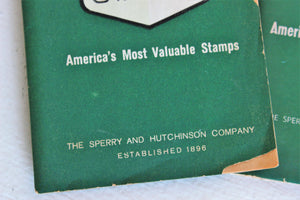 Vintage 1960s Green Stamps Books