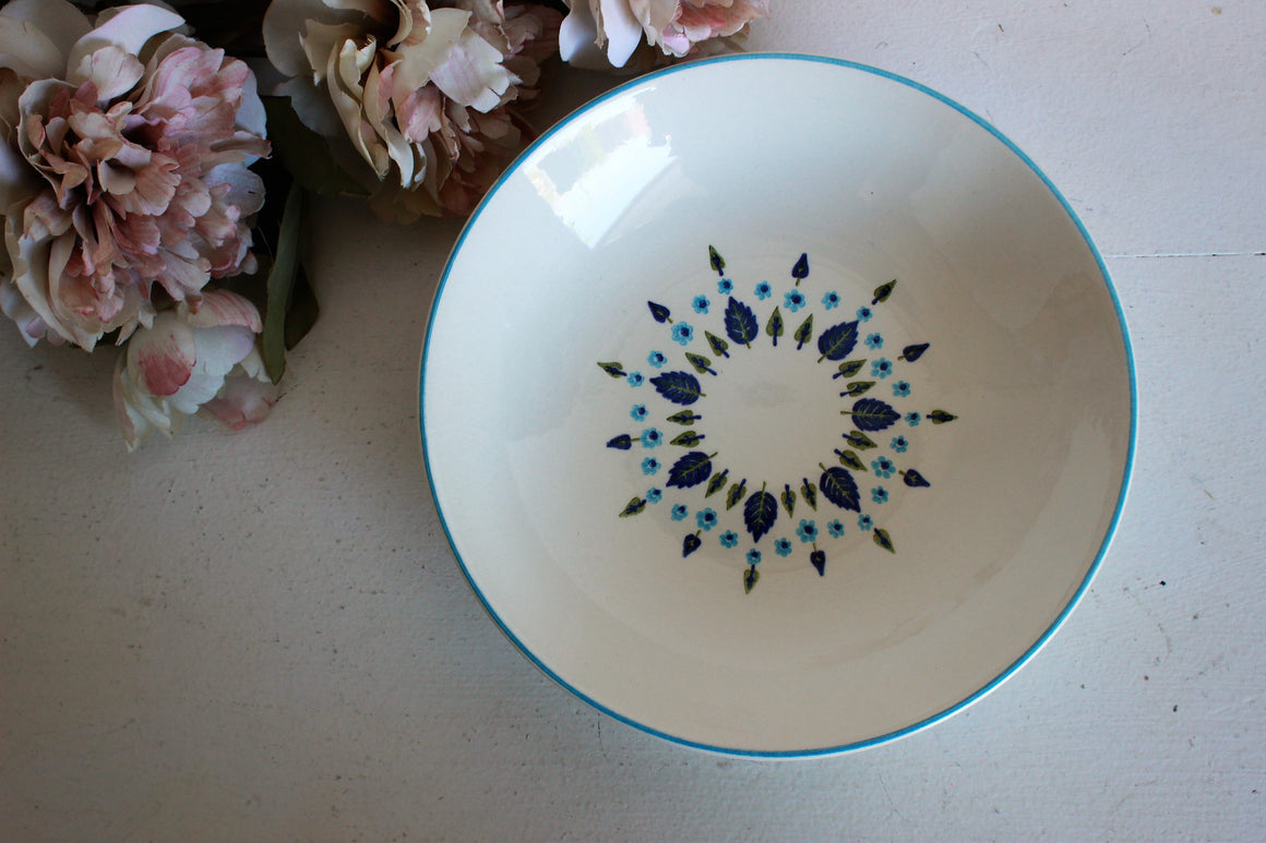 Vintage Soup Bowl by Stetson Marcrest Pottery in Swiss Alpine Chalet