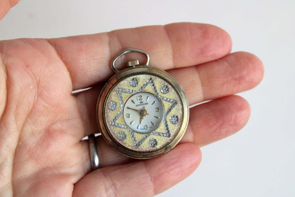 Vintage 1940s Woman's Pocket or Pendant Watch