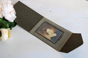 Vintage 1920s Photograph in Cardboard Cover