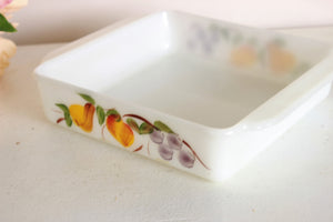 Vintage 1960s Fire King 8x8 Baking Dish