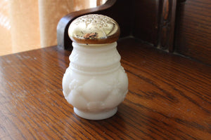 Vintage 1960s Milkglass Avon Unforgettable Powder Jar, Collectible