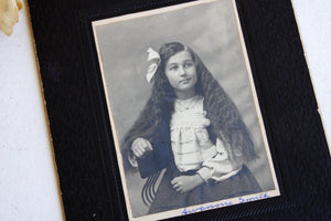 Antique 1910s Photo of a Young Girl