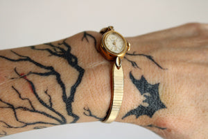 Vintage 1950s Rodania 17 Jewels Incabloc Wrist Watch