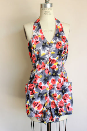 Vintage 1950s Playsuit with Pockets