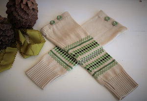 The Viking Spring Fingerless Gloves