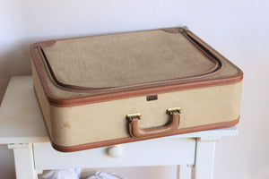 Vintage 1940s Platt Luggage Suitcase