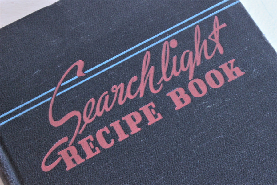 Vintage 1940s Cookbook, Searchlight Recipe Book