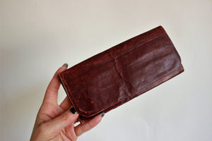 Antique Victorian Leather Wallet