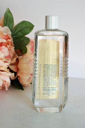 Vintage Rexall Baby Oil in Glass Bottle