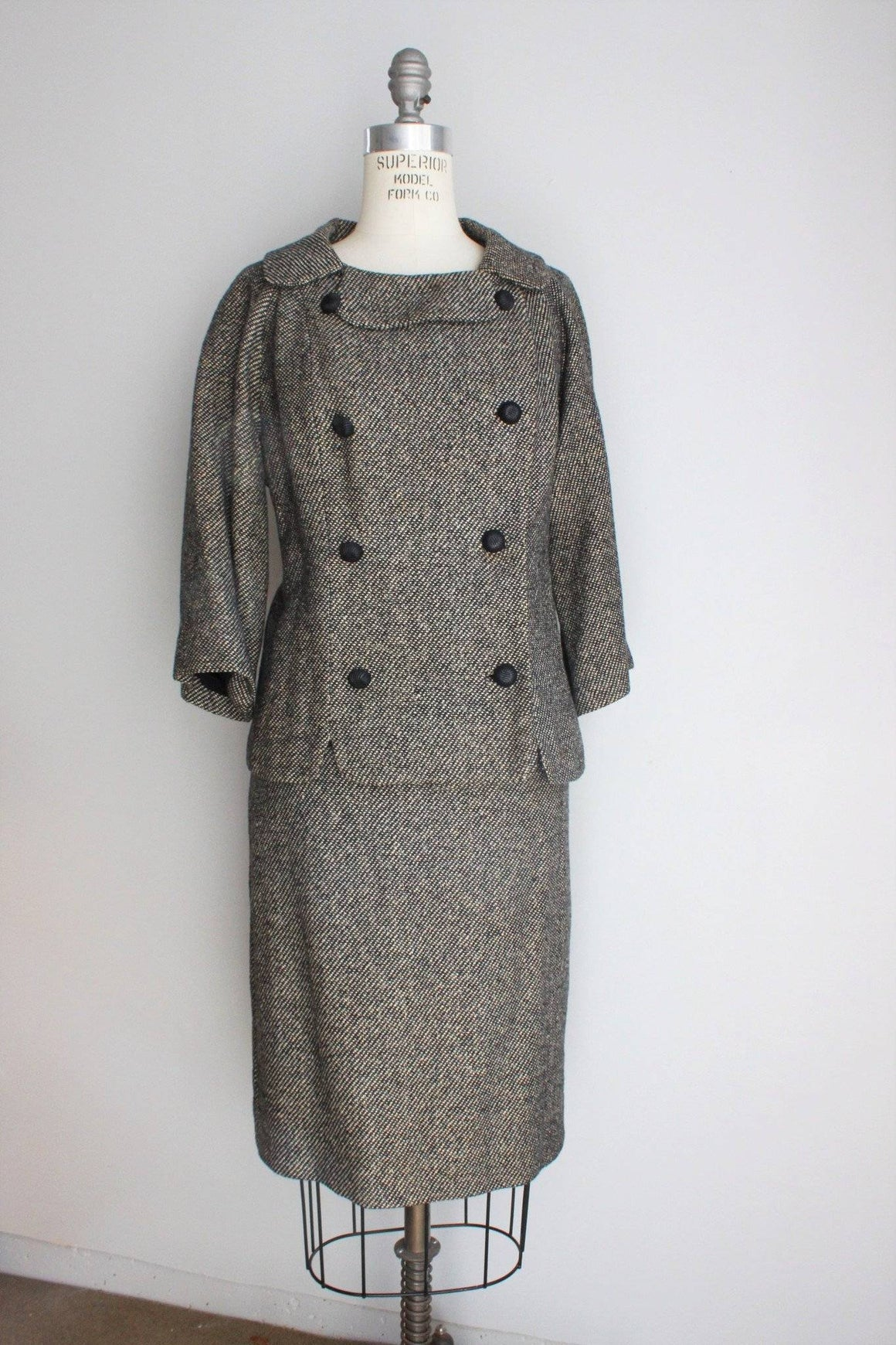 Vintage 1960s Tweed Suit from Sanderson's La Jolla
