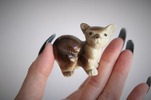 Vintage 1940s Bear Salt and Pepper Shakers From Japan