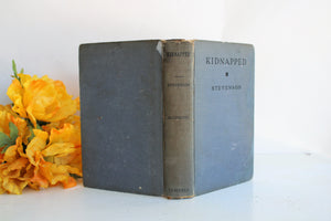 Vintage 1926 Robert Louis Stevenson's Kidnapped Book