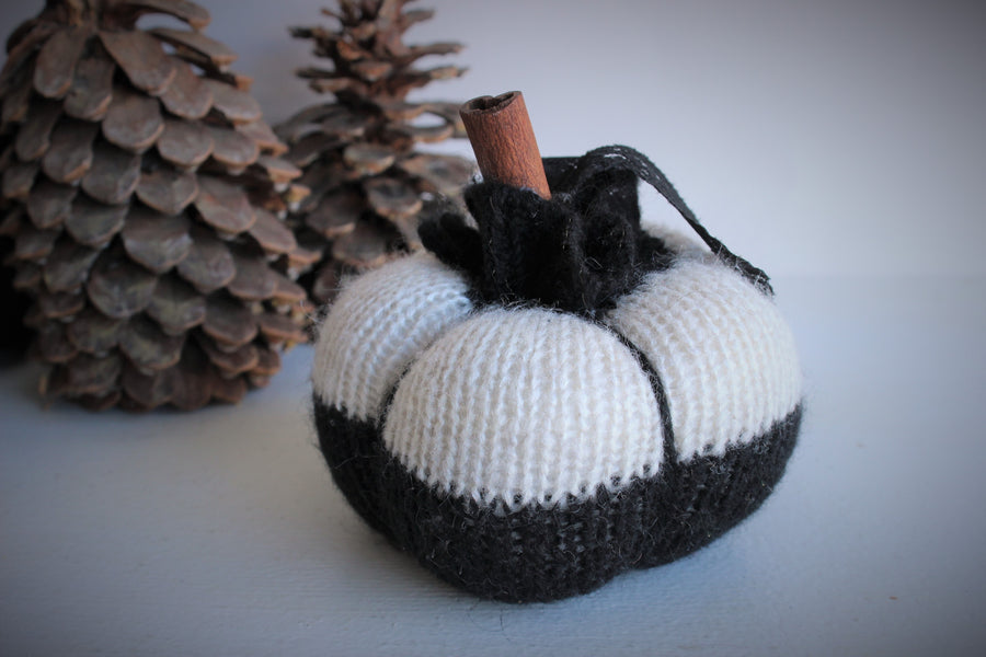 "The ""Jack"" Mini Pumpkin Pillow Pouf"