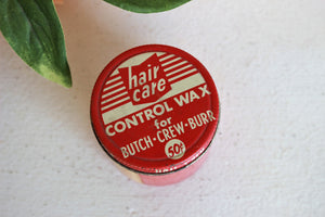 Vintage 1950s Hair Care Styling Wax