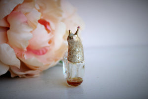 Vintage 1960s Avon Mini Snail Perfume Bottle
