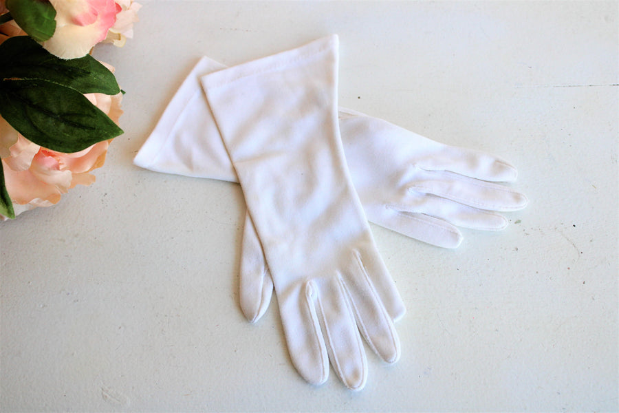 Vintage White Gloves From JC Penneys