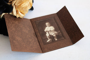 Antique 1900s Baby Photograph