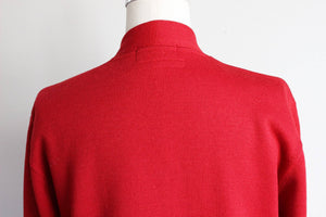 Vintage 1950s Red Criterion Class Sweater