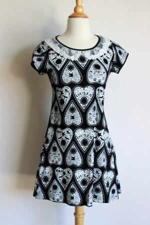 Rat Baby Clothing Ouija Plancette Dress, Size Large