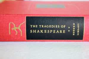 Vintage Book, The Tragedies of Shakespeare, 1950s