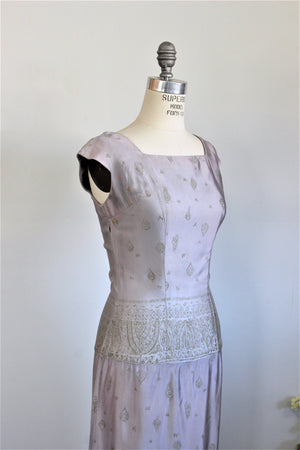 Vintage 1950s 1960s Wiggle Dress by Marsha Young Originals