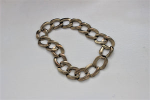 Vintage 1960s 1970s Gold Chain Choker