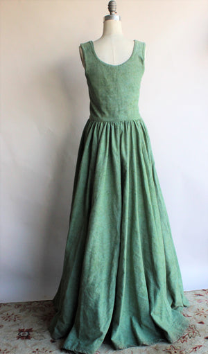 Vintage 1990s Custom Made Irish Overdress Costume