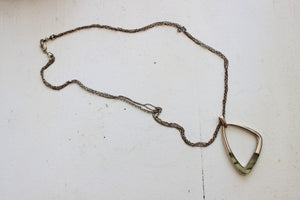 Vintage 1990s Brutalist Feel Necklace
