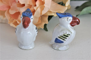 Vintage Bird Salt and Pepper Shaker