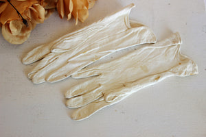 Vintage 1940s Ish Alexette Kid Leather Gloves