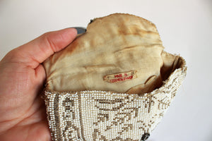 Vintage 1930s Czechoslovakian Beaded Clutch Bag