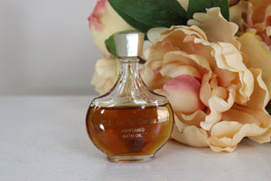Vintage L'Air Du Temps Perfume Bath Oil