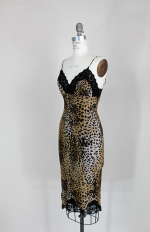 Betsey Johonson Dress In A Leopard or Cheetah Print