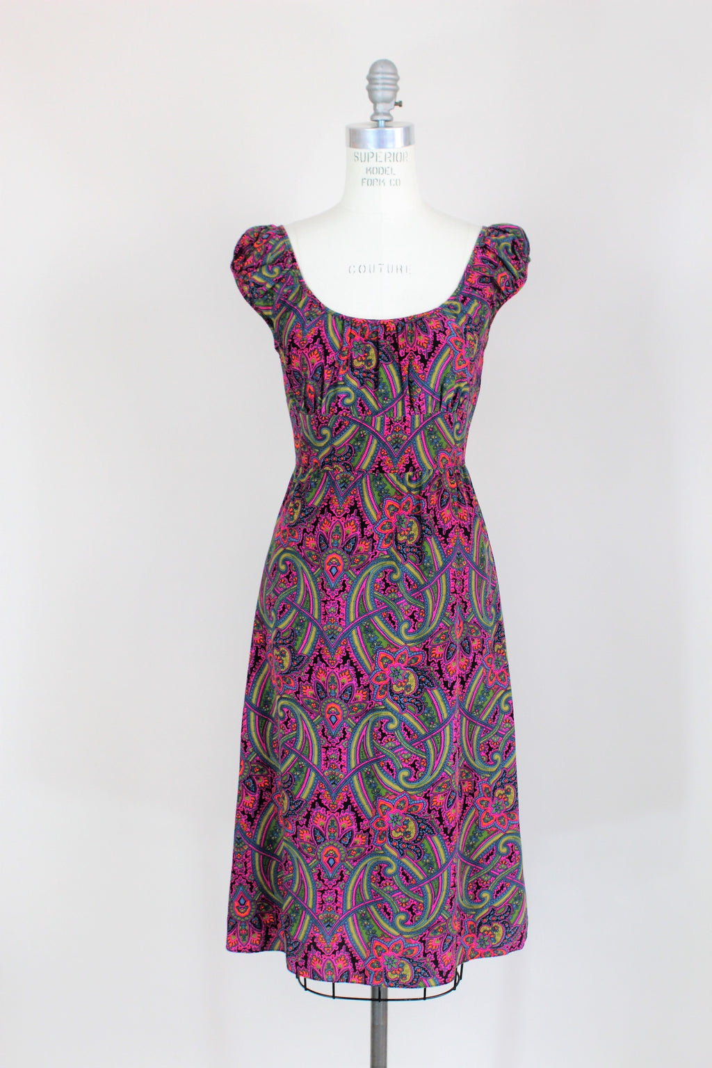 Betsey Johnson Dress In a Pretty Rainbow Print