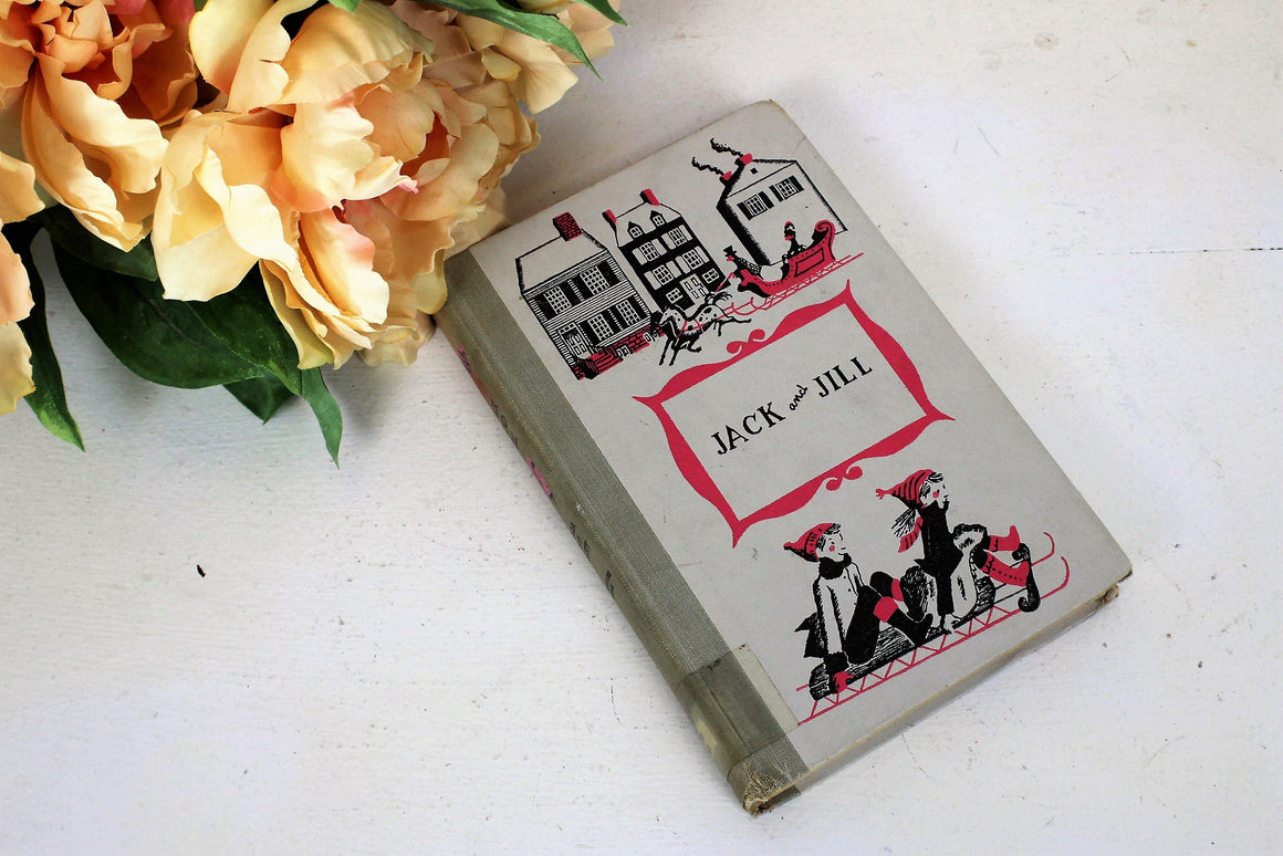 Vintage 1950s Louisa May Alcott Book, Jack And Jill