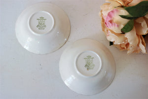 VIntage 1950s Grindley Royal Petal Old China Pattern Bowls
