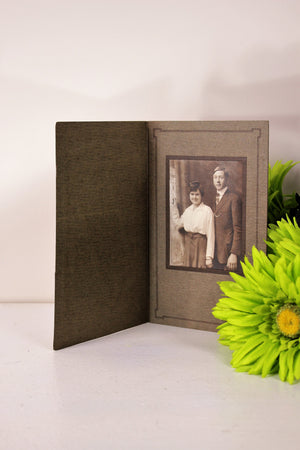 Vintage 1910s Edwardian Photo Of Man And Woman