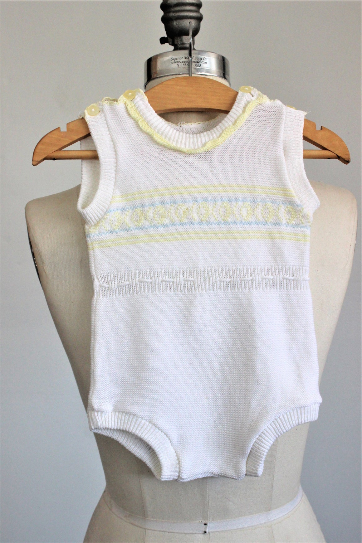 Vintage 1970s Baby Onesie Outfit Boy Or Unisex