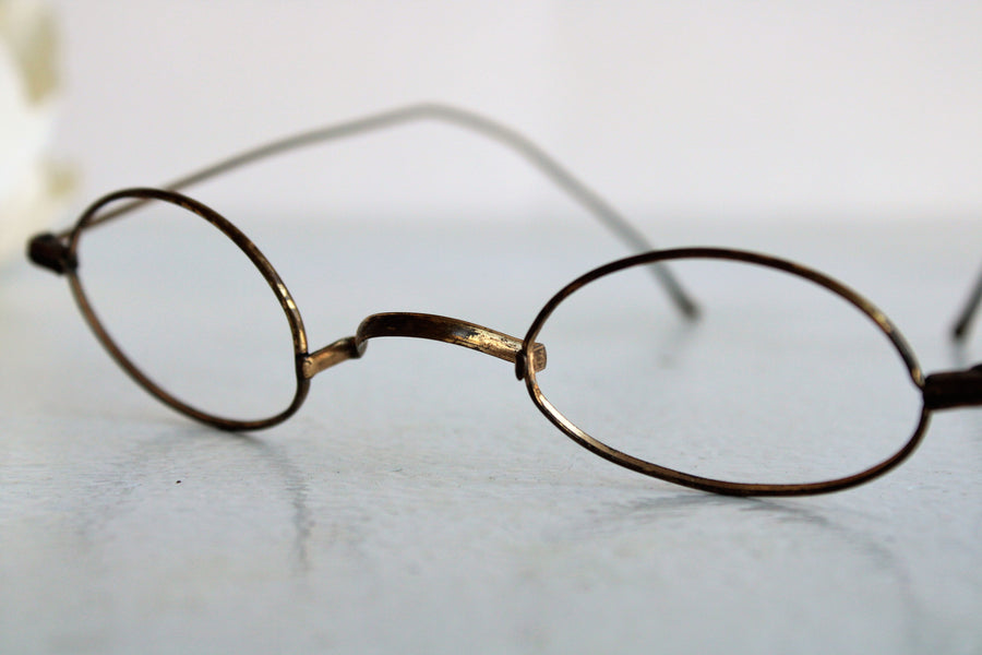 Antique Victorian Wire Spectacle Frames