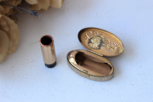 Vintage 1950s Max Factor Lipstick Holder Compact